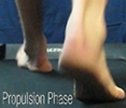 C Quad from The Quadrastep® System is for the Neutral Foot- Propulsion Phase