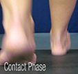 D Quad from The Quadrastep® System is for the Moderate Pes Planus foot - Contact Phase