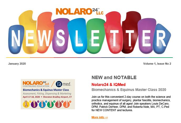 What's new in 2020 at Nolaro24
